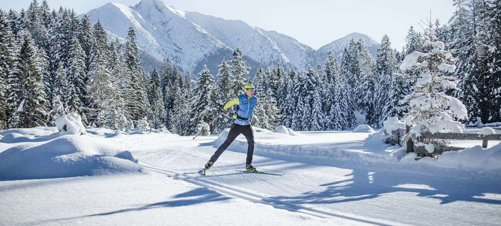 cross-country skiing in Tyrol